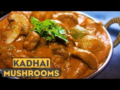Kadai Mushroom Recipe In Hindi | Mushroom Ki Sabzi | Indian Vegetarian Recipes | Kanak's Kitchen