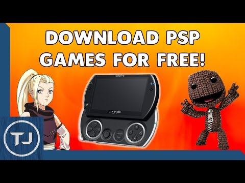 How To Download/Install PSP/PSP GO Games!