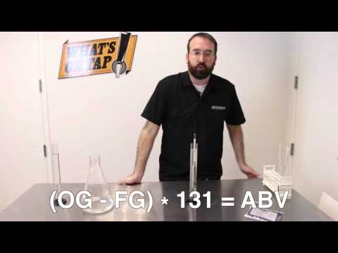 What's On Tap - Hydrometers for Beer, Cider and Wine Making