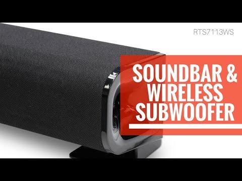 RCA Unboxed | Unboxing the RTS7113WS Soundbar with Wireless Subwoofer