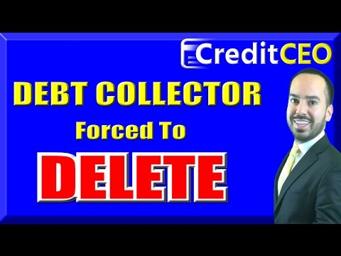 Delete Collection From Credit in 5 mins | Remove Old Debt