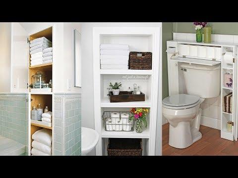 13 Big Ideas for Small Bathroom Storage