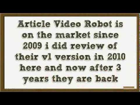 Article Video Robot 2 0 Review and Discount Coupon - Best Video Marketing Software