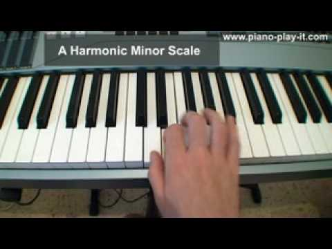 Melodic Minor Scale on Piano - A Free Piano Lesson