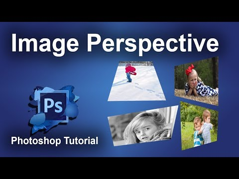 How to Change the Perspective of image in Adobe Photoshop CS6 2017
