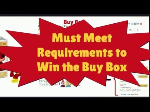 Understanding Amazon's Buy Box Algorithm to Generate More Sales
