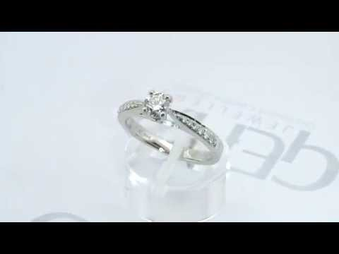Gear Jewellers Dublin Platinum Diamond Engagement Ring 0101116