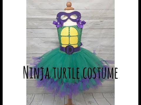 Ninja Turtle Tutu Costume DIY