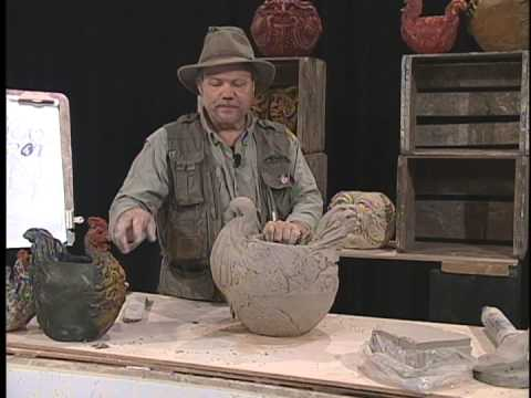 Claywright Chicken Pot with Joe Rock Edwards