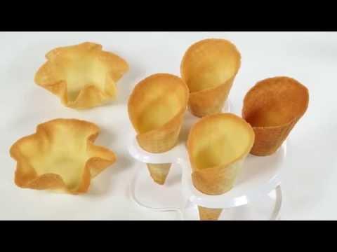 Set for making ice cream cones and cups DELLA CASSA