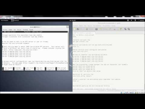 Instalar servidor ntp Linux Debian