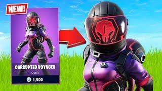 New Corrupted Voyager Skin! (Fortnite Battle Royale)