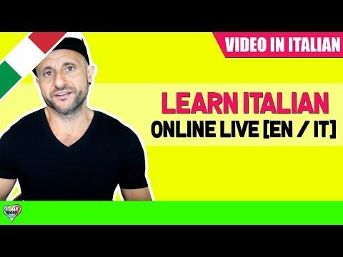 Practice and Improve Beginner and Intermediate Italian: Learn Italian Online LIVE [EN / IT] 09/04/18