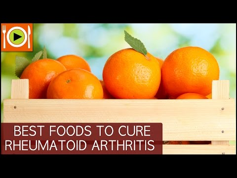 Foods to Cure Rheumatoid Arthritis | Including Antioxidants, Calcium & Omega 3 Rich Foods