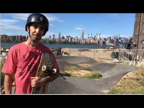 Skate New York Pump Track (Transmisión en vivo!!)