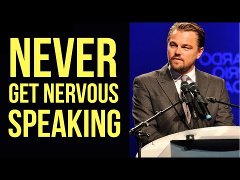 How to NOT Get Nervous Speaking in Front of People