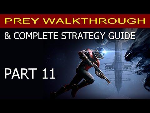 Prey Walkthrough Part 11 - Getting to Psychotronics (Etheric Phantom Strategy!)
