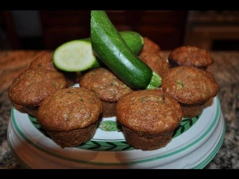💖 Zucchini Bread Muffins - RECIPE by Mommy Is A Chef Episode 20