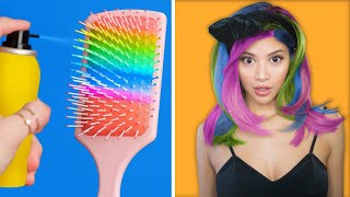 """Trying """"Smart"""" DIY Beauty Hacks For Cool Girly... Girls"""