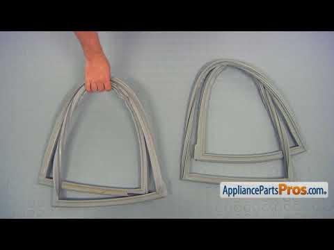 Refrigerator Refrigerator Door Gasket (Part #W10443238) - How To Replace