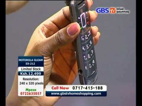 GBS TV HOMESHOPPING Motorola EX212