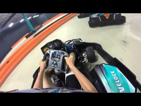 GoPro: Veloce Indoor Speedway Extreme Go Kart Racing