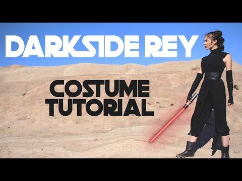 DARK SIDE REY    Star Wars Costume Tutorial