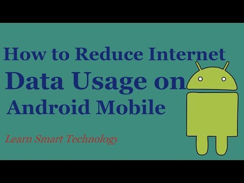 4 Tips to Reduce Internet Data Usage on Android Mobile 2018 | 4 Ways to Lower Data Usage In Android