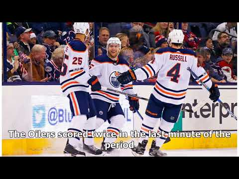 Connor mcdavid has four-point night; oilers rout blue jackets  By Channel