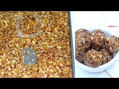 Super Power Energy Balls or Bars | Perfect winter and Prasad recipe