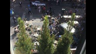🚨Van Plows into Pedestrians in Munster, Germany - LIVE BREAKING NEWS COVERAGE