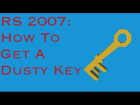 Runescape 2007: How to Get a Dusty Key