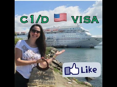 Working on a cruise ship - 8 - C1/D American Visa