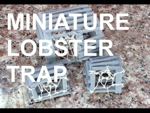 DIY: Miniature Lobster Trap