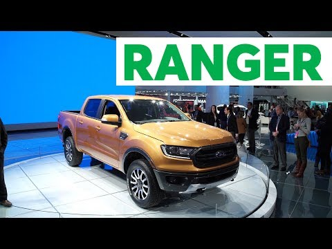 2018 Detroit Auto Show: 2019 Ford Ranger Is Back | Consumer Reports