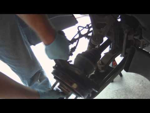 Chevrolet Corvette C6 Rear Wheel Bearing Replacement - Axle Shaft