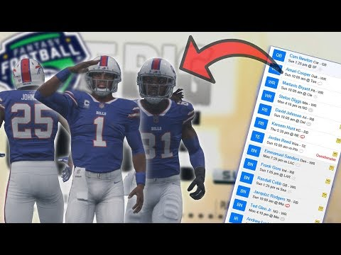 What if YOUR Fantasy Team Tried To Make A Superbowl Run!? Madden 18
