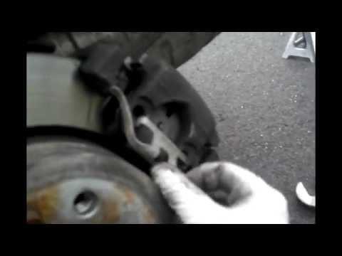 BMW Rear Brake Pads And Sensor Replacement E83 E46 E38 E39 X5 E89 DIY