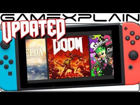 Doom Update Adds Gyro Controls & New Icon on Nintendo Switch