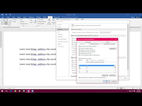 Shortcut key to Add Autotext Entries in MS Word 2003 to 2016