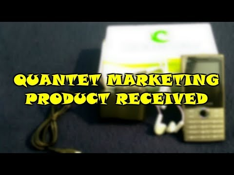 Quantet Marketing Product Received | UNBOXING BASIC MOBILE
