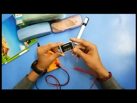 How to check Mobile Battery