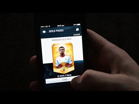 FIFA 14 | iPhone Pack Opening In Full 1080p!!!