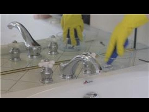 Bathroom Cleaning : How to Clean Bathroom Fixtures