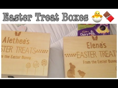 WHAT'S INSIDE THE KIDS EASTER BOXES! | EASTER TREATS | My Fashion Cupboard baby