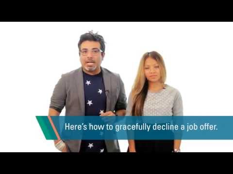 Interview Tip: How to Gracefully Decline a Job Offer
