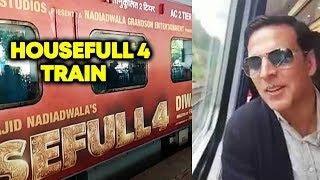 Housefull 4 Train, इस Train से Akshay Kumar करेंगे फिल्म का जोरदार Promotion