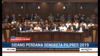 Sidang Perdana Sengketa Pilpres 2019 Dibuka, Semua Kubu Memperkenalkan Diri