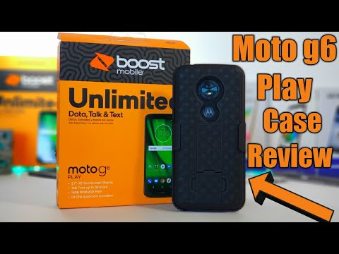 Moto G6 Play NageBee Holster case and tempered glass review. Worth the $9.97 🤔