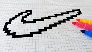 Pixel Art Logo Apple Facile